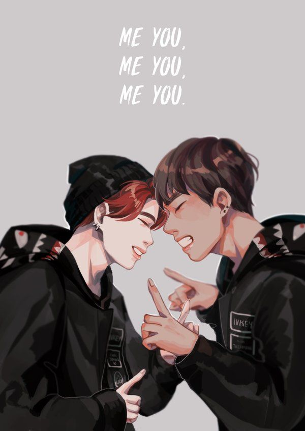 """right next to me is my soul friend, my lover #BTS #VMIN #JIMIN #TAEHYUNG"""