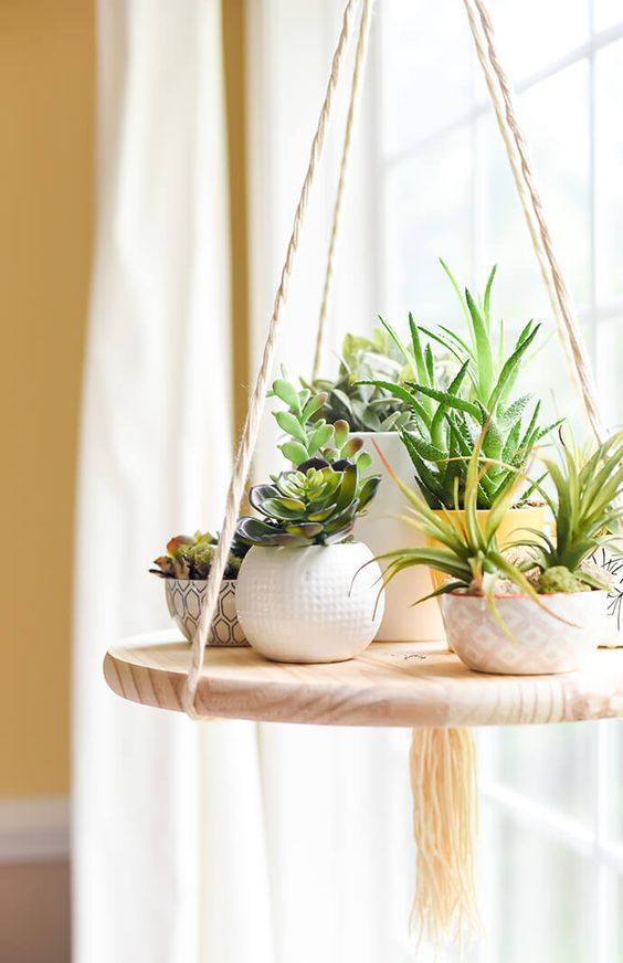 Wonderful DIY Plant Stands You Will Love To Make | Diy ... on Stand For Hanging Plants  id=65192