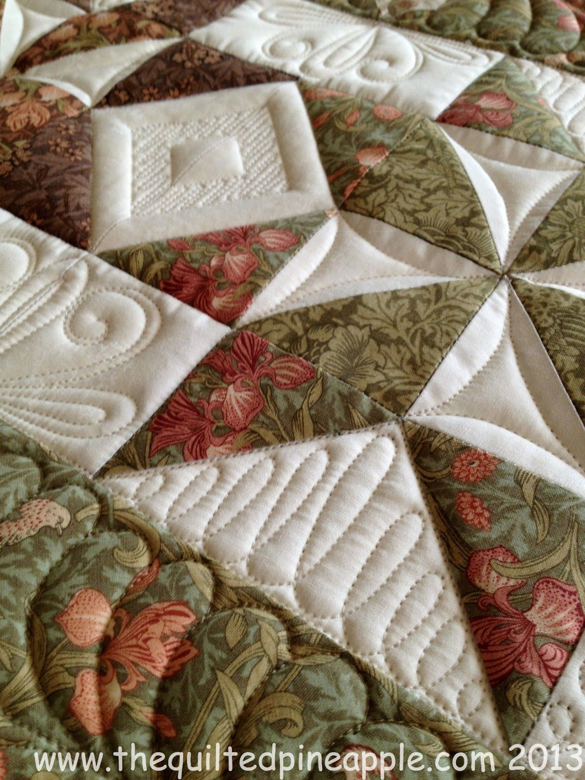 THE QUILTED PINEAPPLE Quilts Pinterest