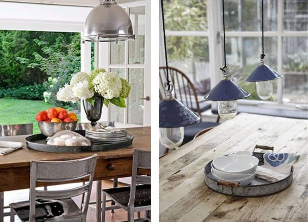 Accessorizing your dining table trays and cabin