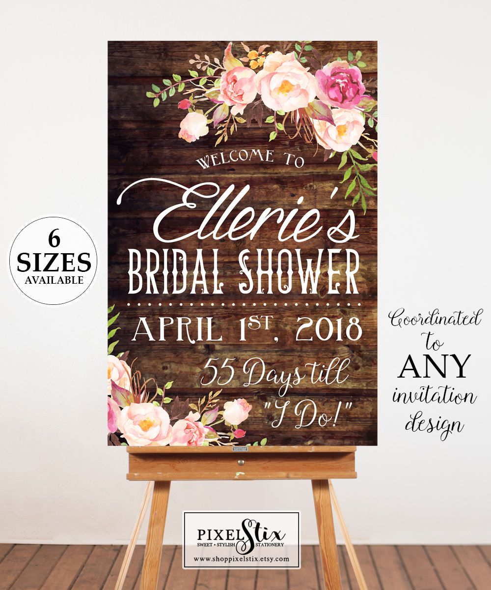 free printable bridal shower games how well do you know the bride%0A Printable Bridal Shower Welcome Poster  Bridal Shower Sign  Bridal Shower  Poster  Welcome Sign  Digital Door Sign  Bridal Shower Decor