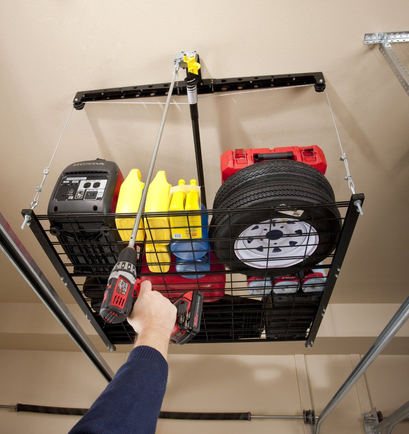 Jeep Roof Hoist: Amazon.com: Racor PHL-1R Pro HeavyLift 4-by-4-Foot Cable