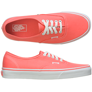 Coral vans yes! WANT.