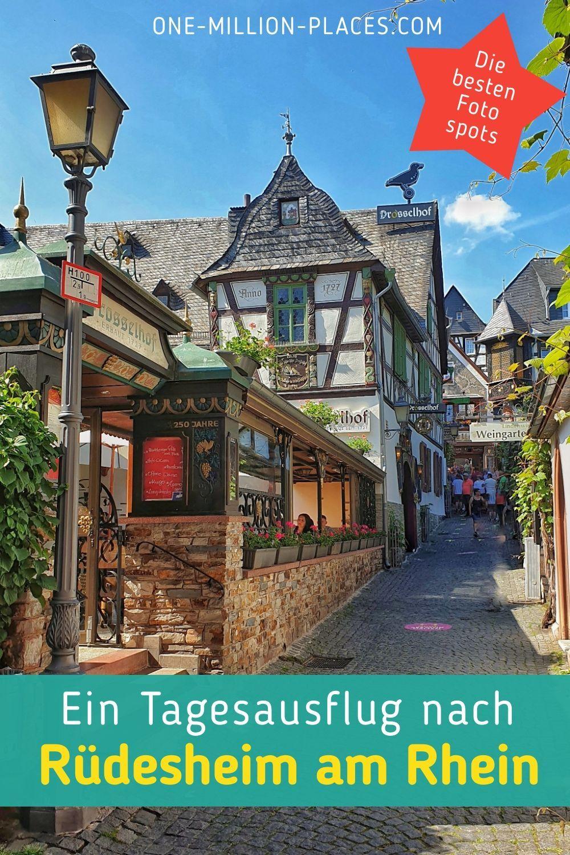 Ein Tagesausflug ins Obere Mittelrheintal & den Rheingau (Deutschland)