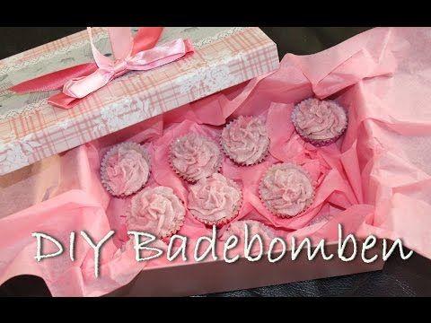 DIY: Lavendel- und Rosen - Badebomben einfach und günstig selber machen - YouTube