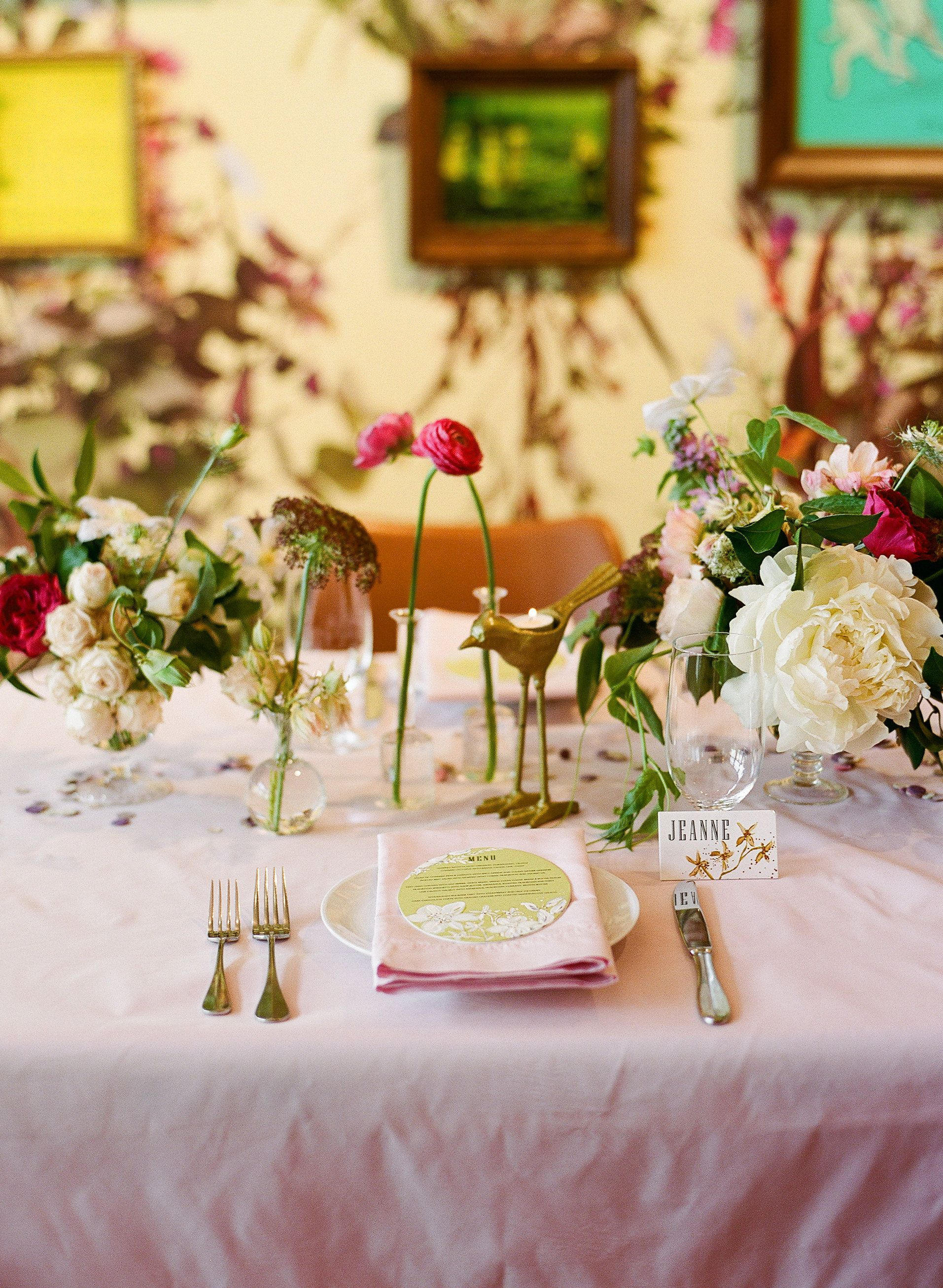Bridal Brunch Set Up | 21c Weddings | 21c Louisville | 21c