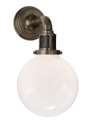 ralph lauren lighting fixtures. McCarren Single-Globe Sconce - Ralph Lauren Home Lighting Fixtures\u2026 Fixtures