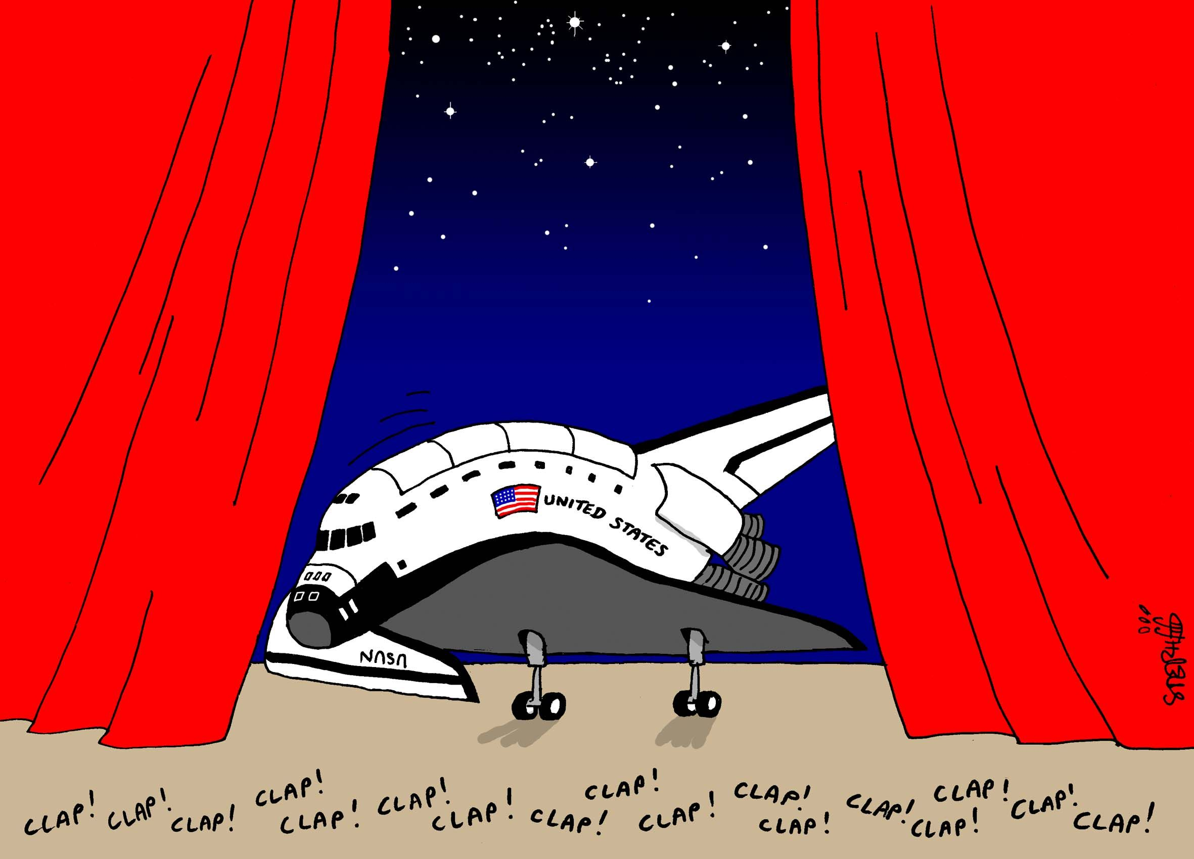 Space shuttle retires copyright by stephff contact stephff