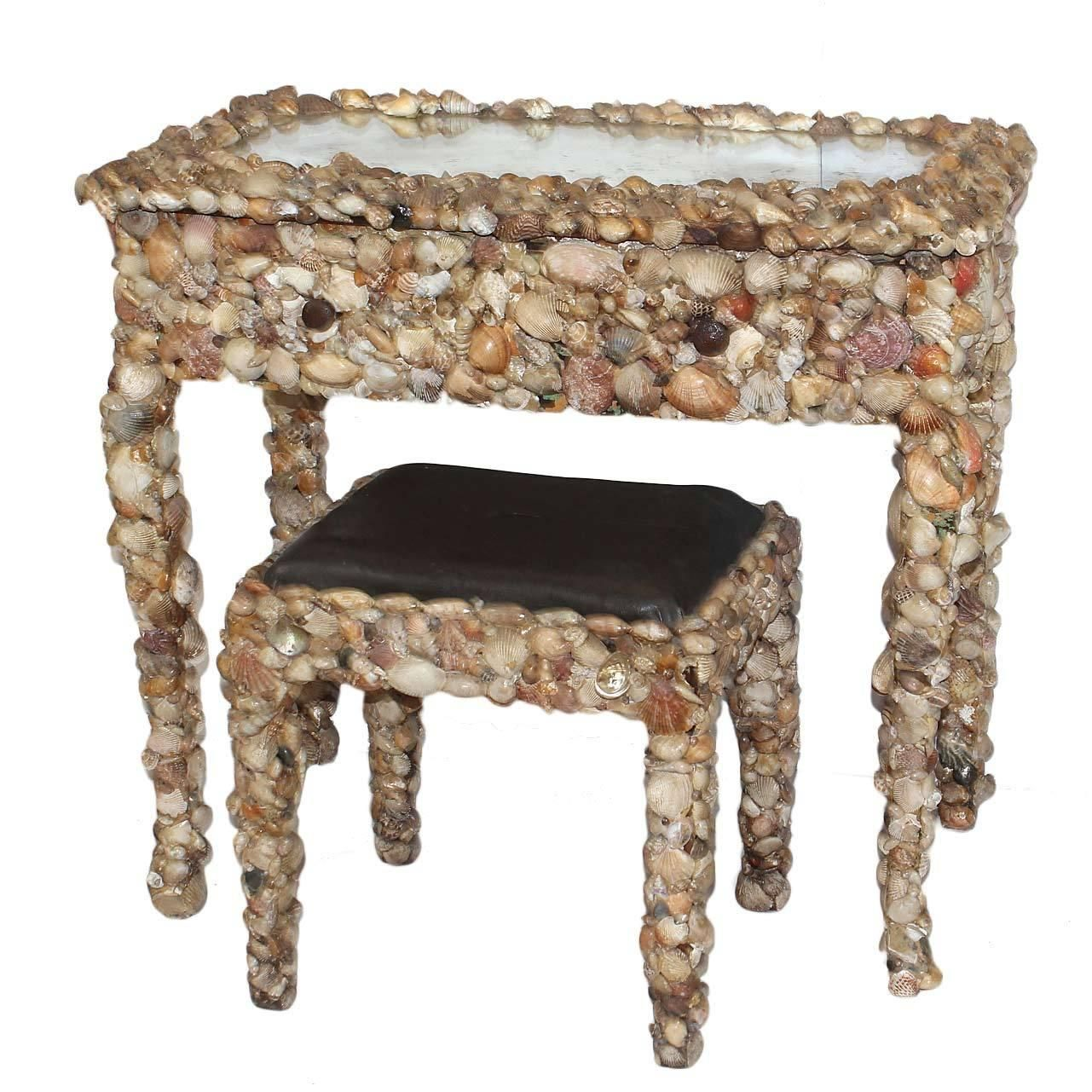 Lovely Antique Vanity Stools Benches