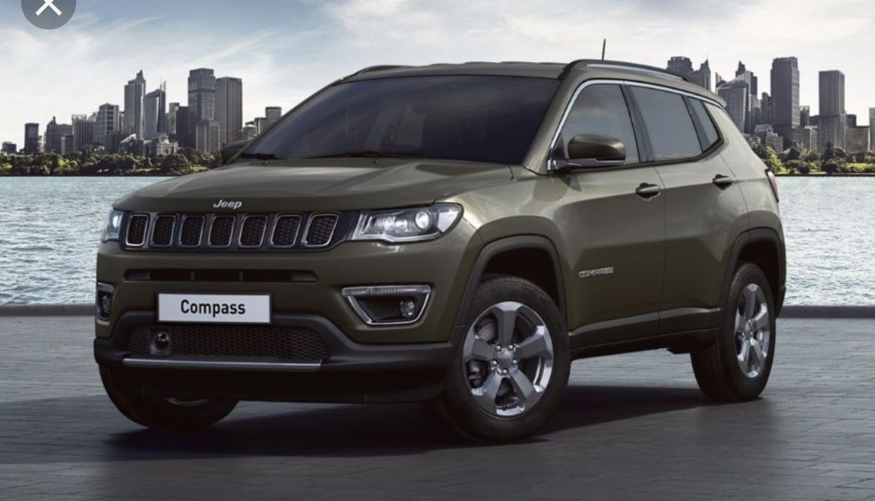 Pin By Ariana Dill On Car Accessories Jeep Compass Green Jeep