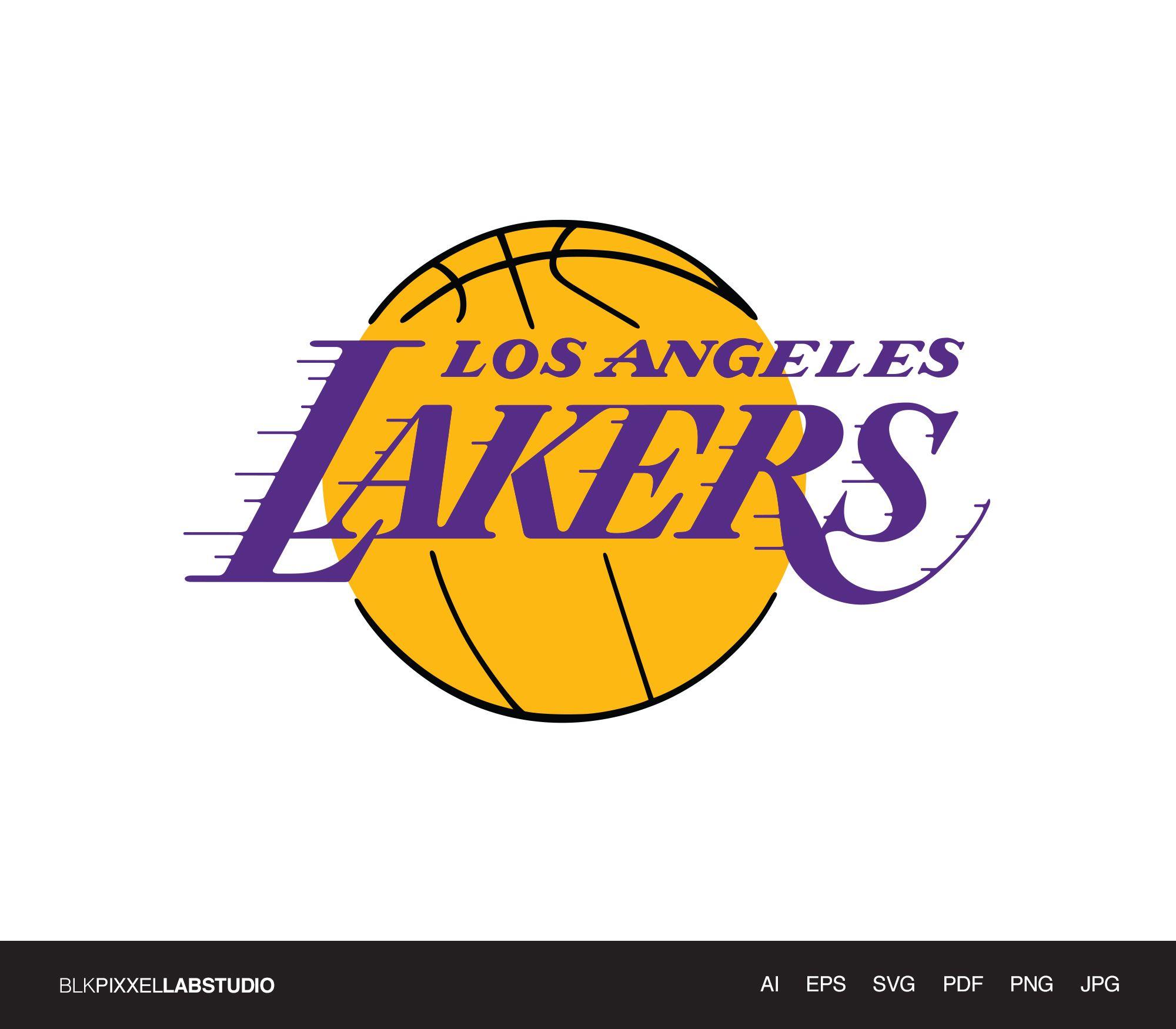 Los Angeles Lakers Svg Nba Svg Husband Gift Gift For Him Etsy Los Angeles Lakers Logo Lakers Logo Los Angeles Lakers