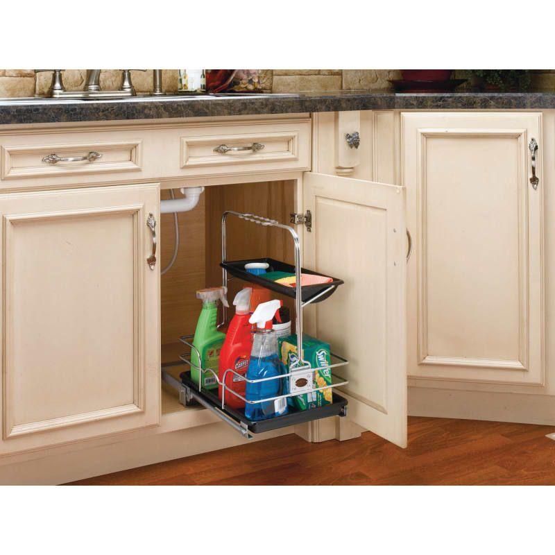 Rev A Shelf 544 10c 1 Kitchen Sink Caddy Under Kitchen