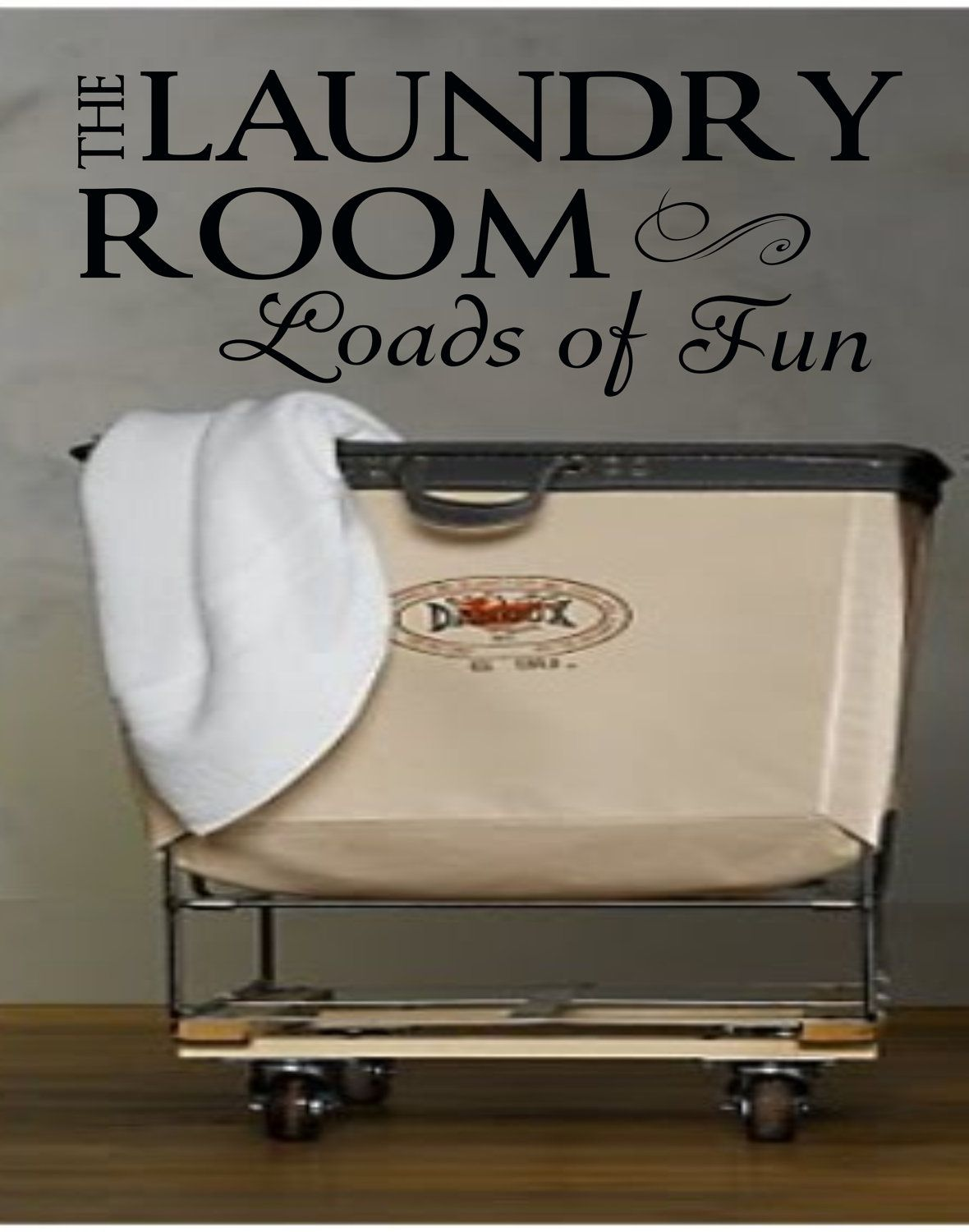 The Laundry Room Loads Of Fun Sign Laundry Sign The Laundry Room Loads Of Fun Decalmudroom Vinyl