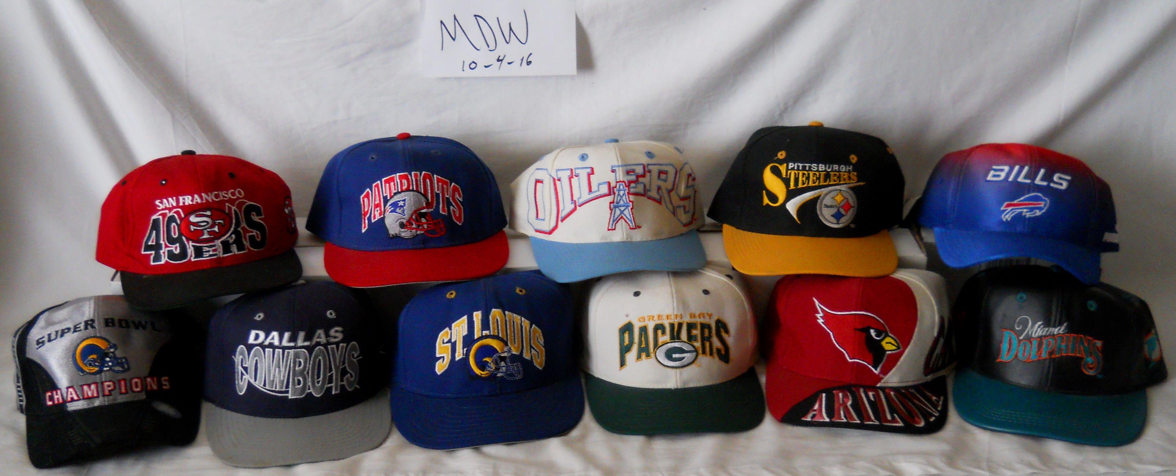3402d6621 Lot 3 NFL Hats - Various AJD