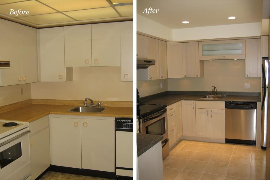 Older model mobile home makeover before and after for Cheap house renovation ideas