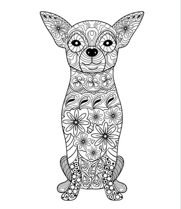 Coloriage Dog Coloring Page Animal Coloring Pages