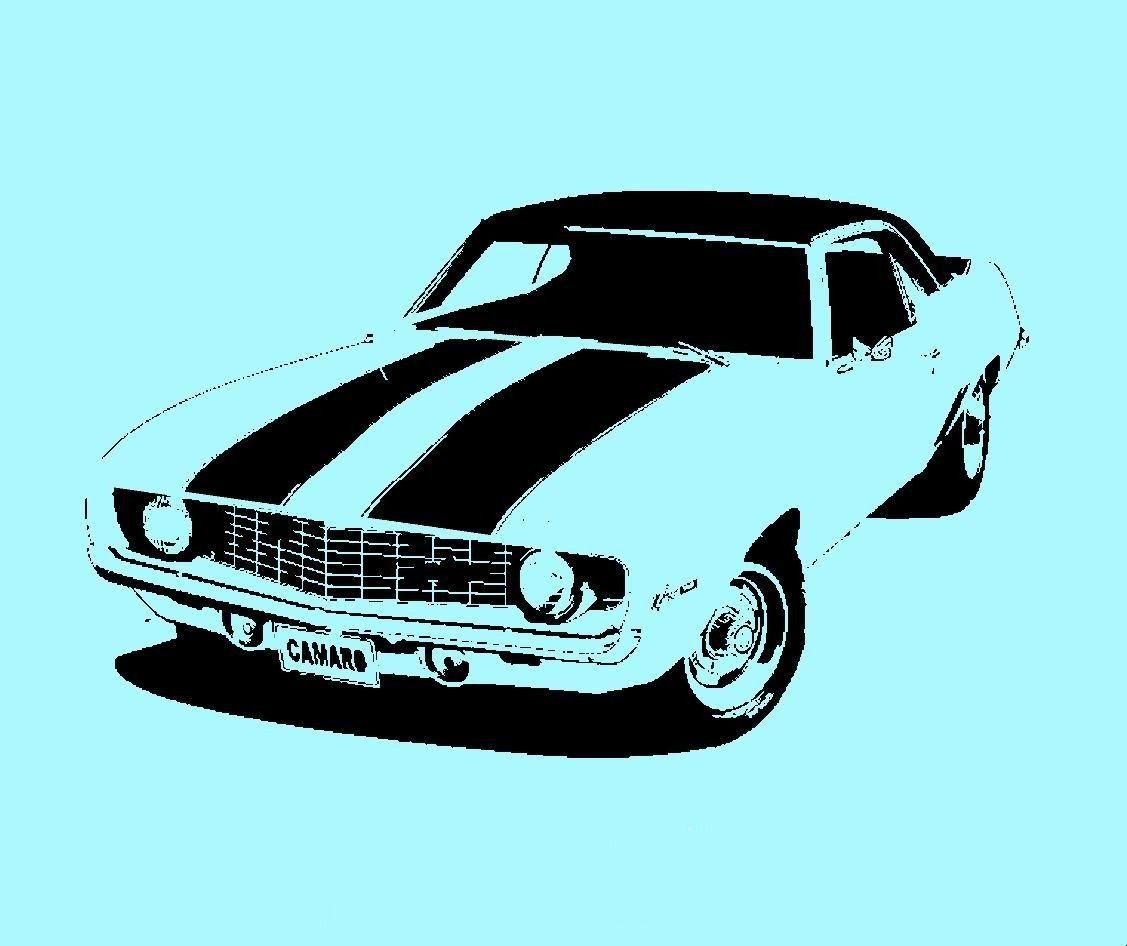 STENCIL 1969 Camaro 10 X 6. $10.00, via Etsy. | templates | Pinterest