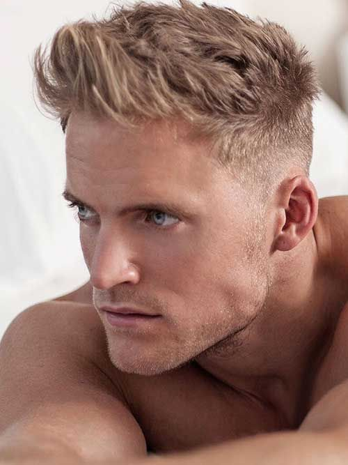 Peinados De Moda Hombre Fotos Peinados Pelo Corto Hombre Los - Pelo-rubio-hombre