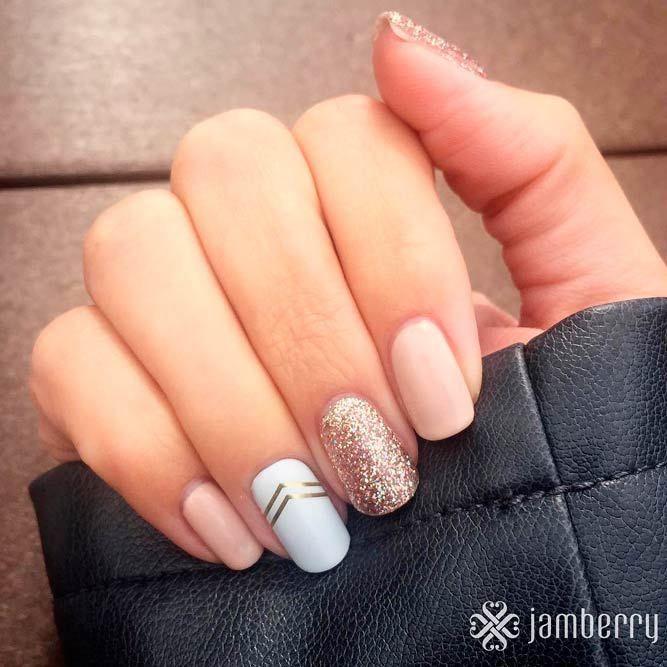 77 Designs for Trendy Gel Nails Polish Colors 2018 | Nail polish ...