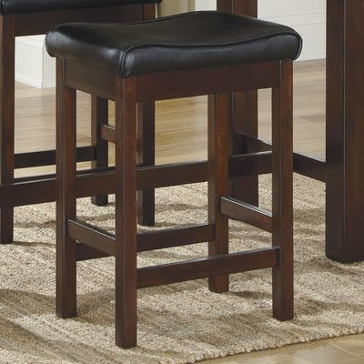 "Signature Design by Ashley Kraleene 24"" Bar Stool with Cushion"
