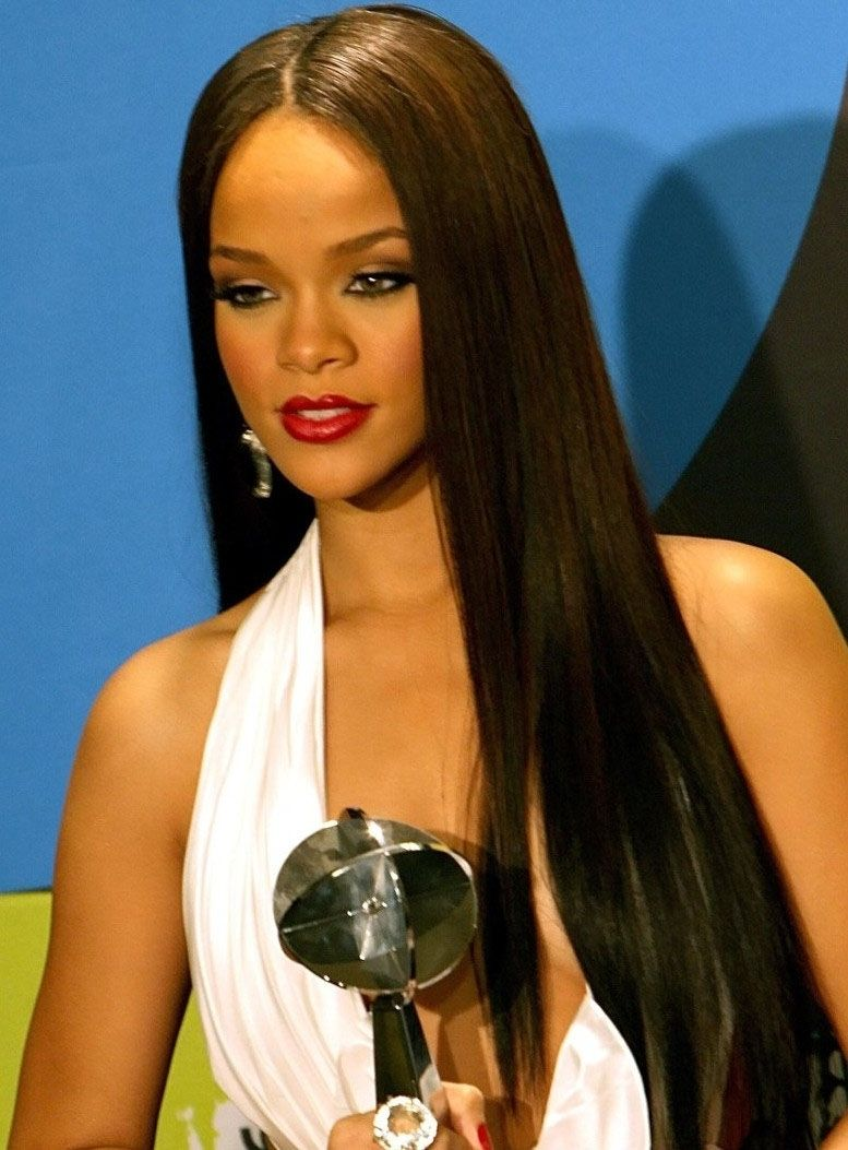 top quality custom rihanna hairstyle synthetic lace wig 24 inches