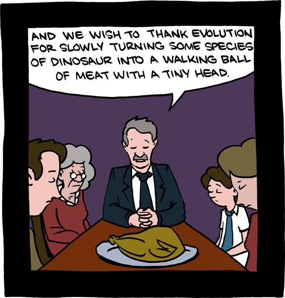 dinosaurs for thanksgiving