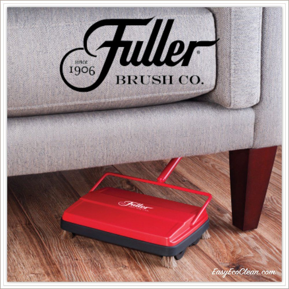 Fuller Brush Electrostatic Carpet And Floor Sweeper 9 Cleaning Path Red See This Wonderful Product This Is An Floor Sweepers Carpet Flooring Fuller Brush