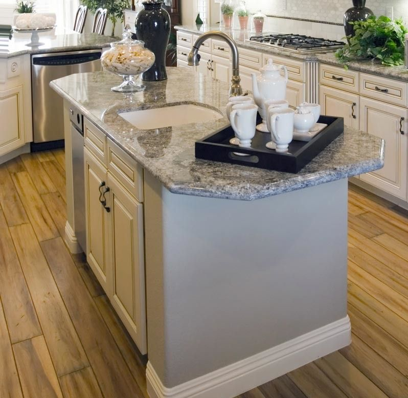 Center Island Designs For Kitchens Fascinating Prep Sink And Faucet Placement  Different Nbm  Nancy's 2018