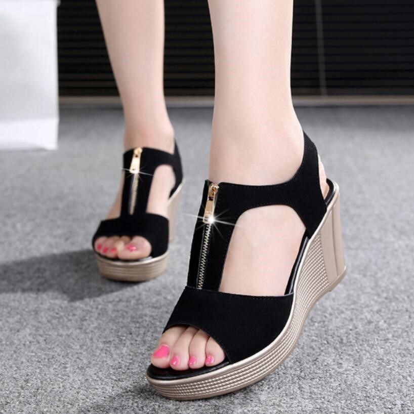 74f9ea74c675ab More info D Henlu 2018 Women Sandals Summer Platform Sandals High Heels  Sandal Shoes Women Ladies Sandal Heels Wedge sandalia plataforma  d henlu   women ...