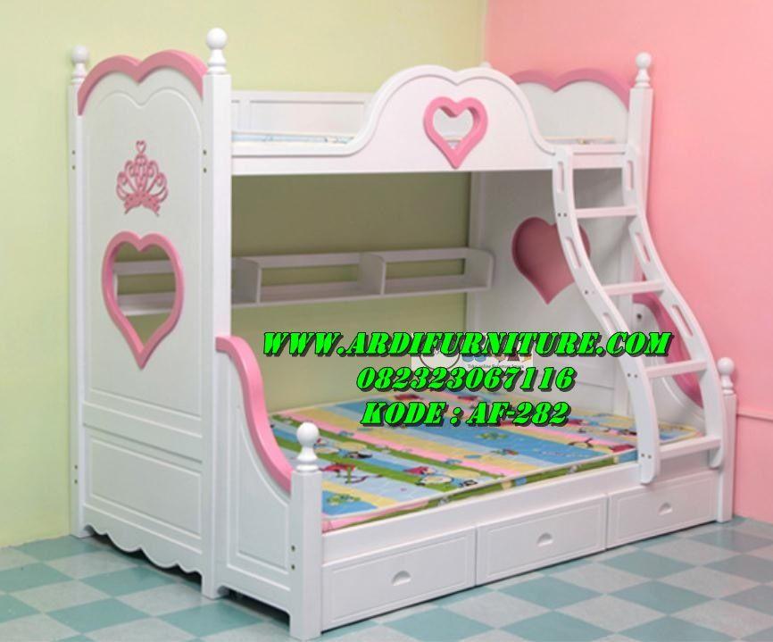 Model Dan Harga Sofa Bed Terbaru jual kasur tingkat anak princess model dipan tingkat anak