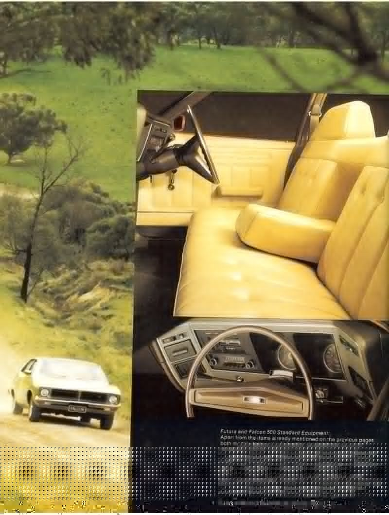 Ford Falcon Xb Brochure Page 8 Ford Falcon Ford Classic Cars Australian Cars