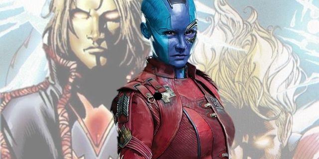 James Gunn Chose Nebula Over Adam Warlock For Guardians Of The