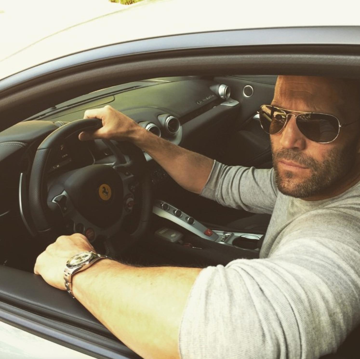 Steeling the show … Jason Statham's love affair with Rolex – ünlüler