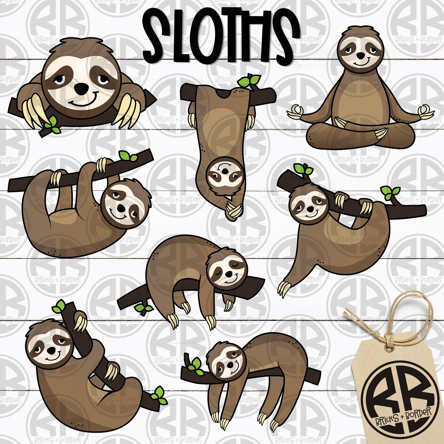 Sloth Clipart Line Art Images Clip Art Sloth