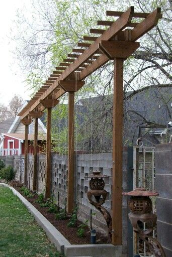 Hop trellis - Stacy\'s favorite trellis design | Arbor and trellis ...