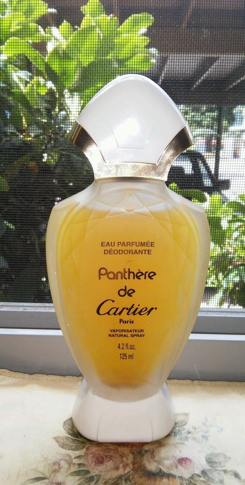 Vintage Panthere De Cartier Old Formula Perfumed Deodorant 42 Floz