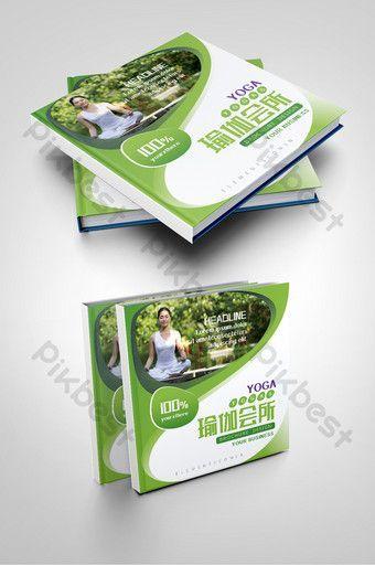 #Broschüre #Cover #fitness #Gesundheitswesen #grüne #Mode #pikbest #Spa #Vorlagen #Yoga Green fashio...