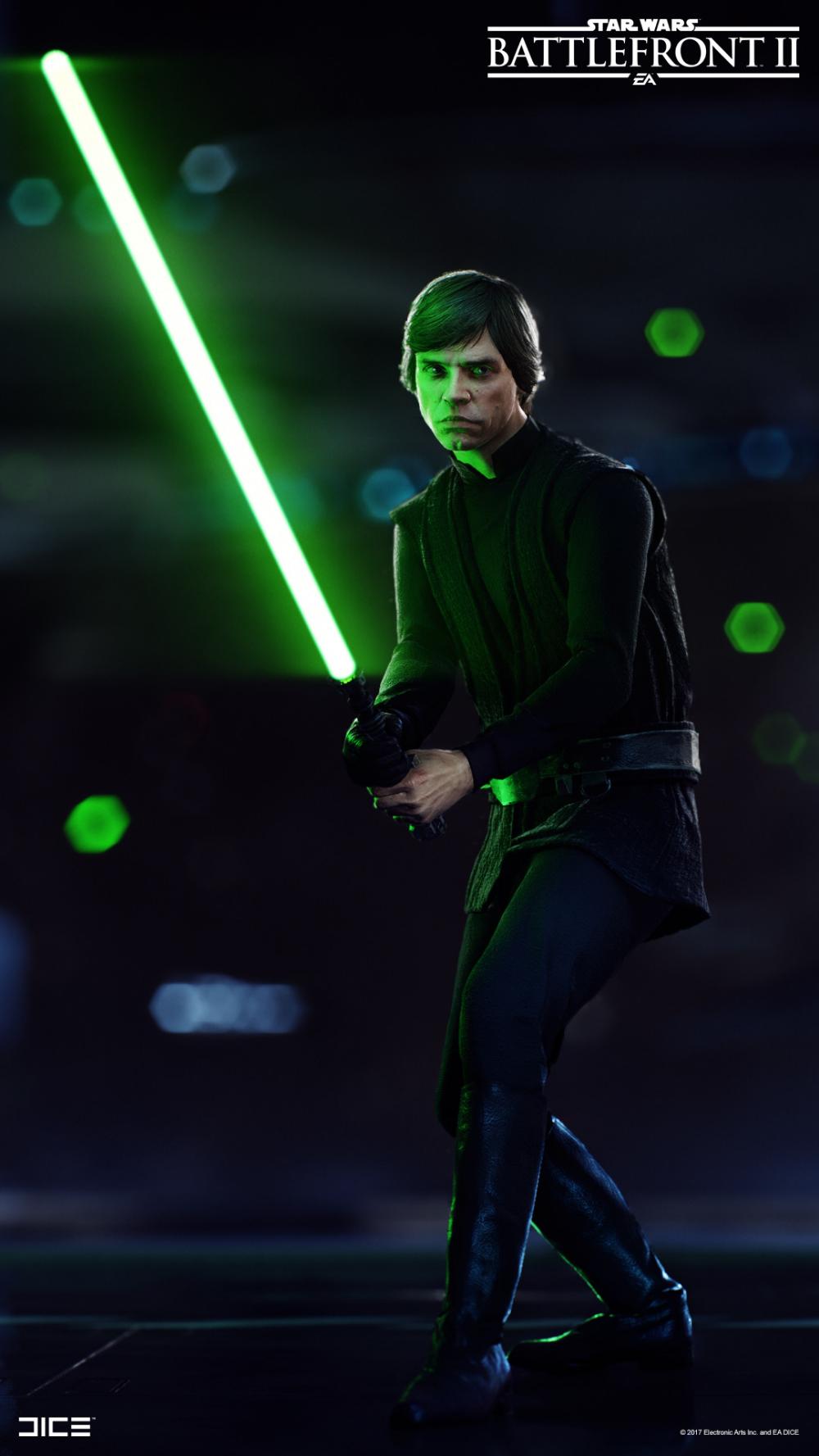 Artstation Star Wars Battlefront 2 Luke Skywalker Bjorn Arvidsson Star Wars Movies Posters Star Wars Wallpaper Star Wars Pictures
