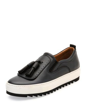 Leather sneakers, Leather loafer shoes