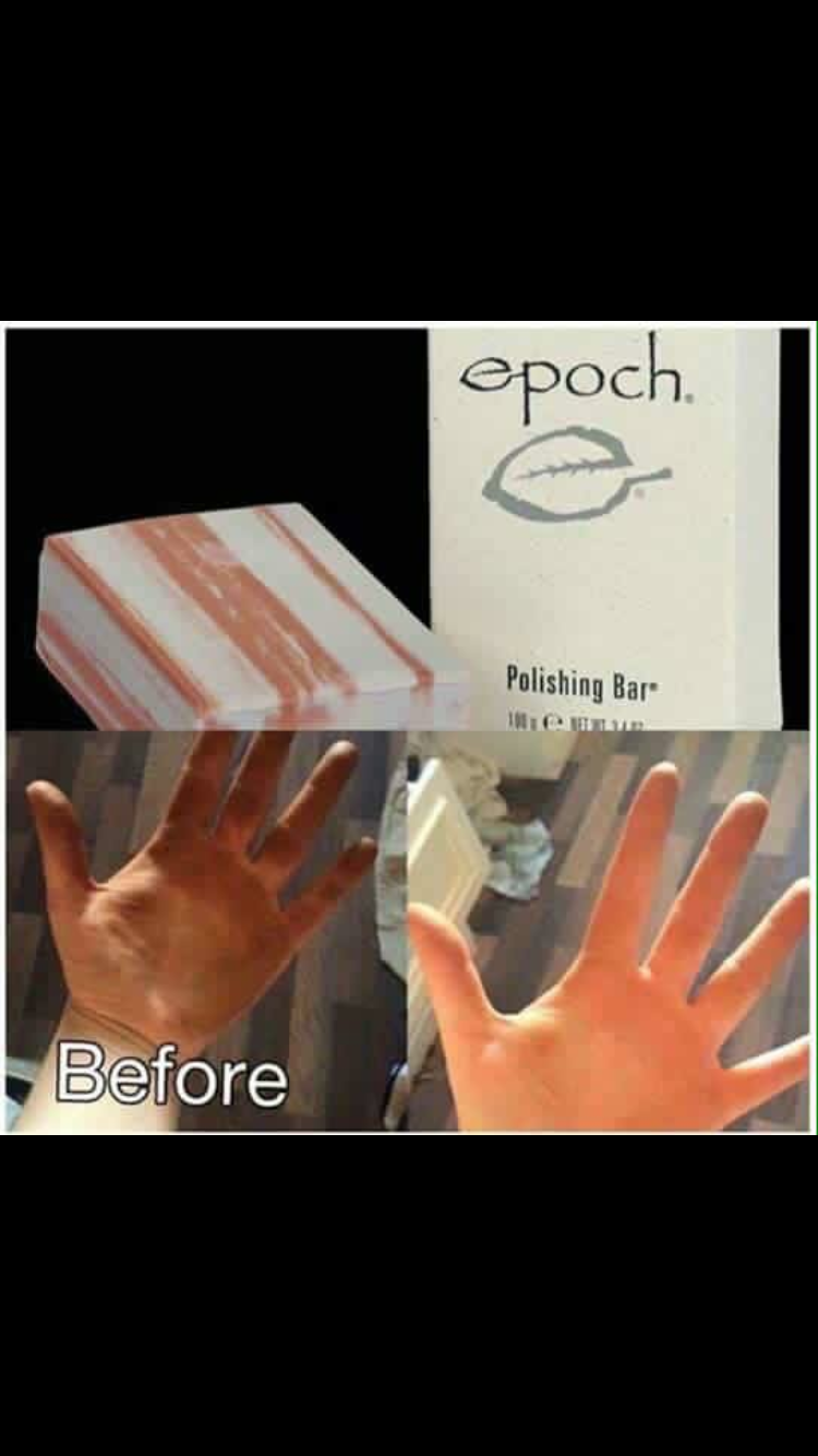Epoch Polishing Bar Contains Glacial Marine Mud Used By Native Soap Ra Glow Americans Of The Pacific Northwesr Free All Over Deep Cleanser Eases Off Dead