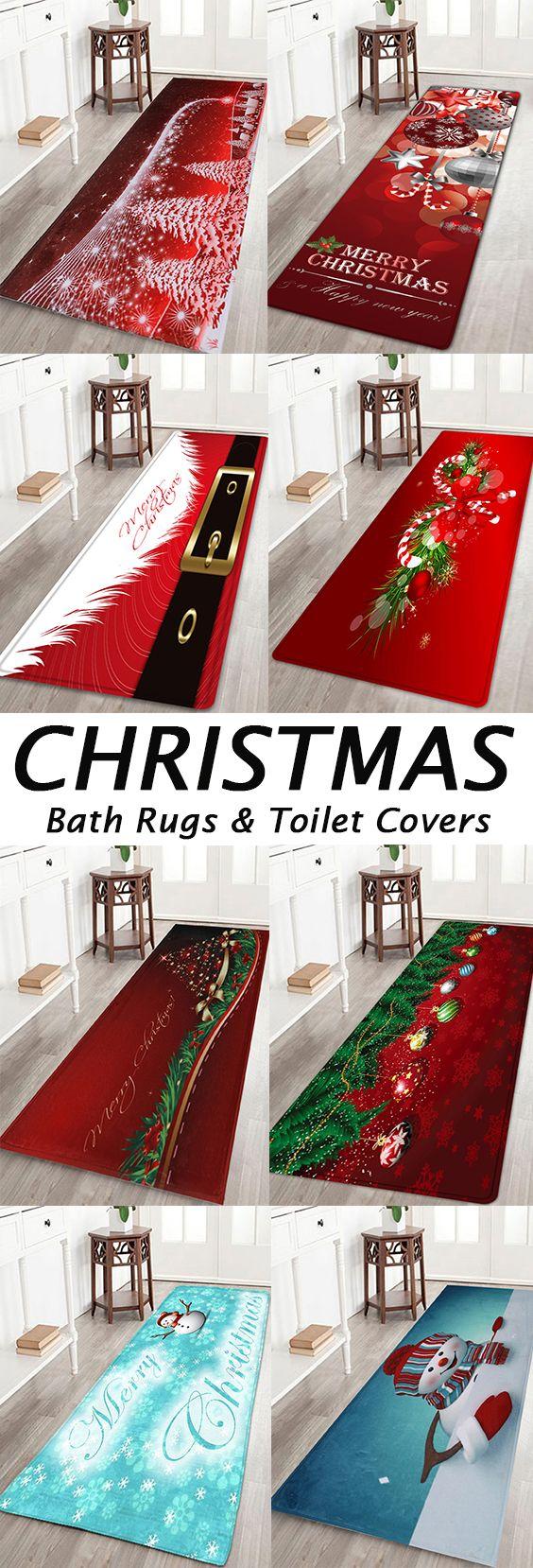 50 Off Christmas Bathroom Products Christmas Bath Rugs Christmas Bathroom Cheap Christmas Trees