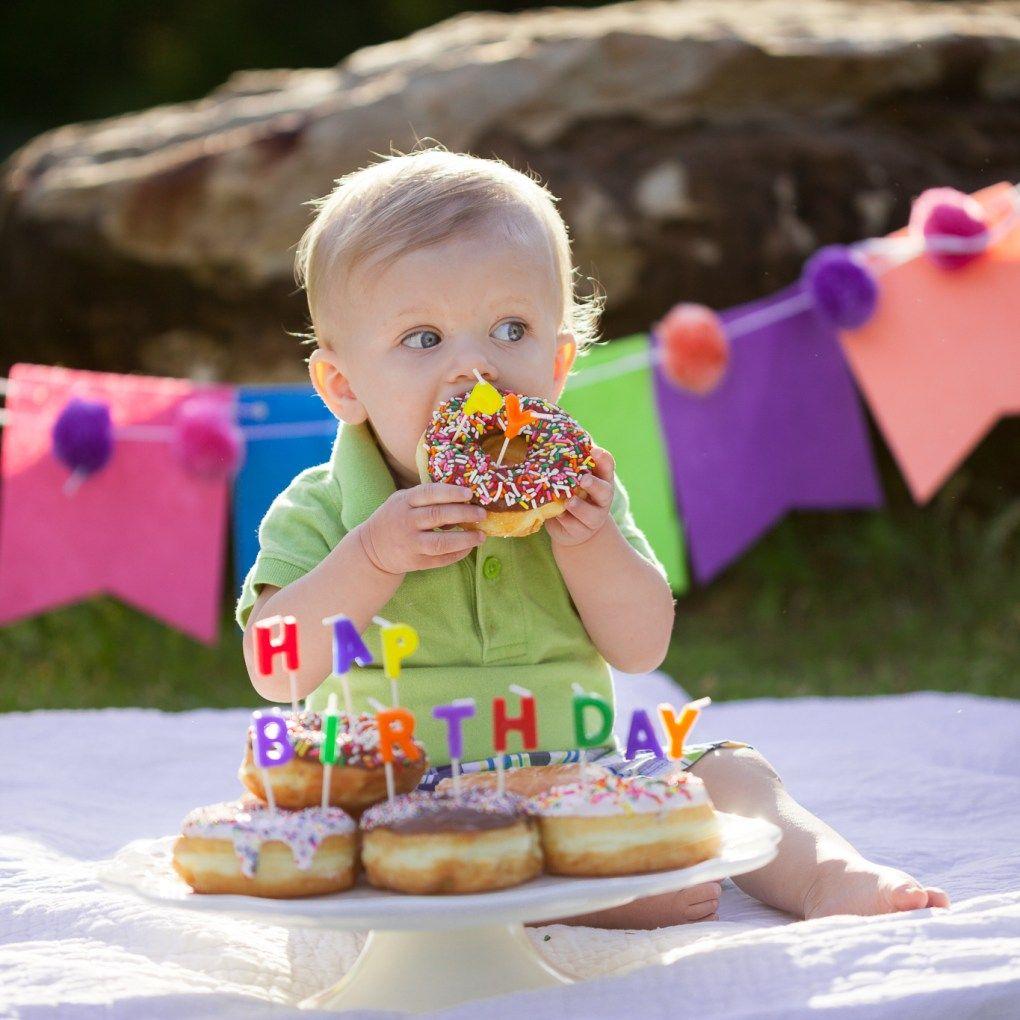 Jennifercarleyphotographycom Cake Smash Donut Smash Dallas