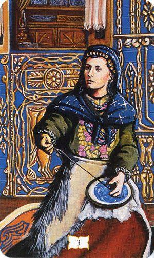 Resultado de imagem para romani tarot the empress