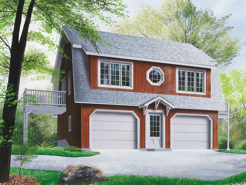 Whitecourt Apartment Garage Carriage house plans, Garage