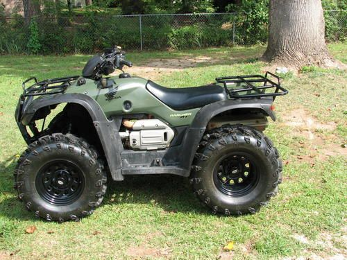 2004 2007 honda trx400 rancher fa fga 400 service manual instant rh pinterest com 2004 honda rancher owners manual 2004 honda rancher manual free