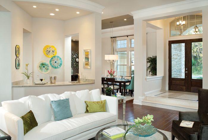 Rutenberg - Gainesville Luxury Designer Home - formal living room ...