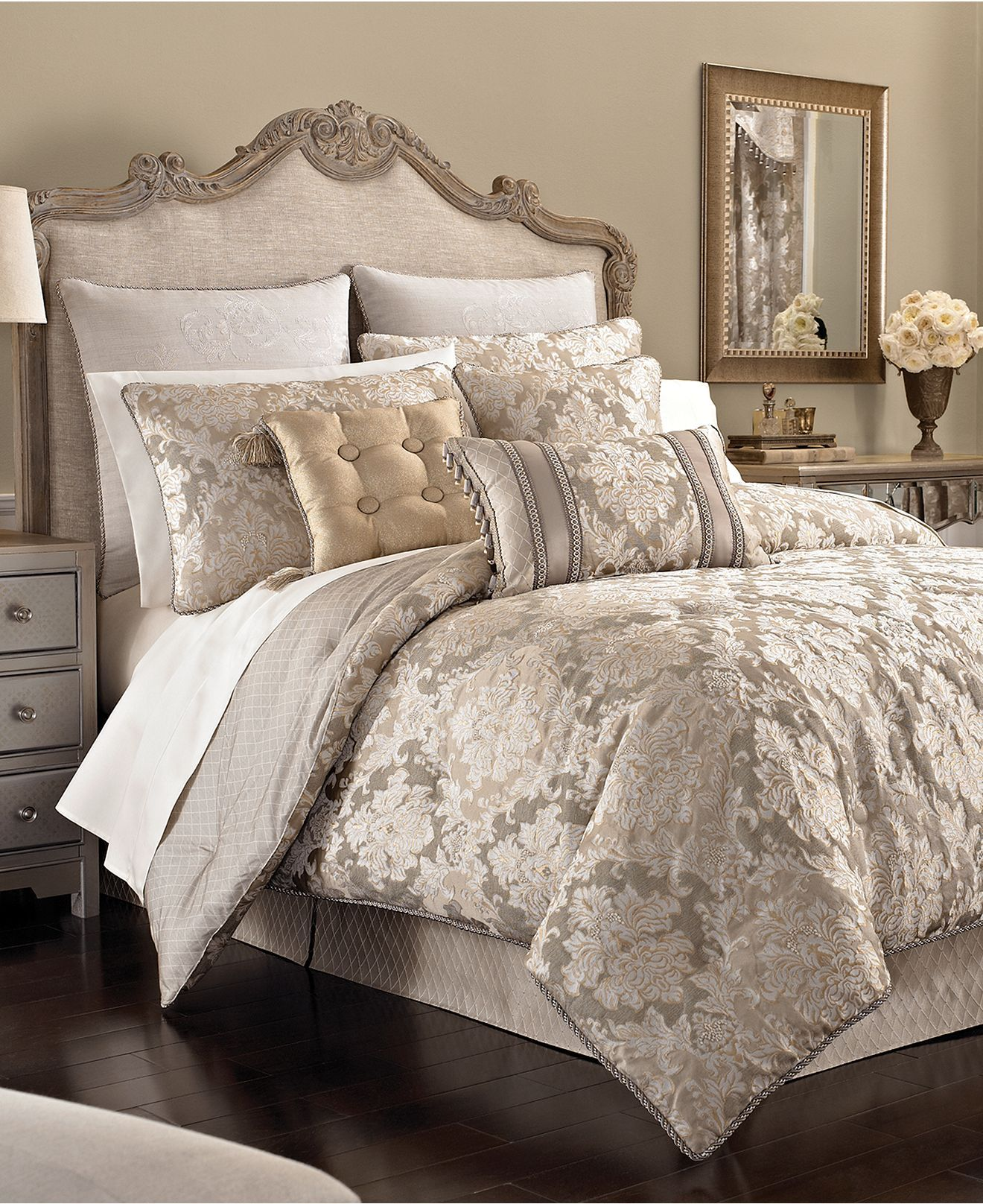 Croscill Bedding, Ava Comforter Sets - Bedding Collections ...