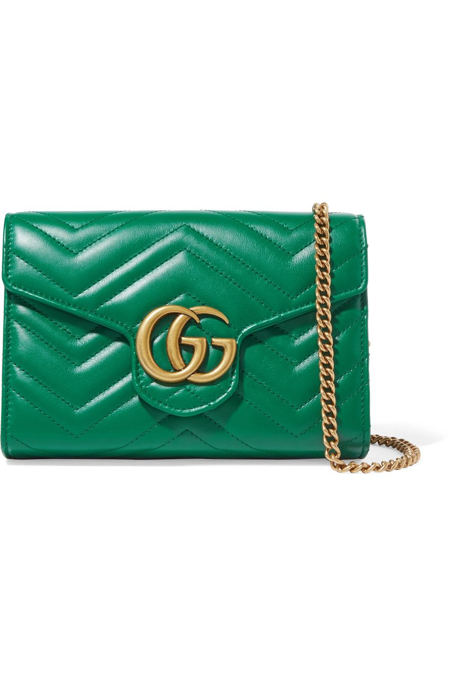 4331434f026 GUCCI GG Marmont mini quilted leather shoulder bag