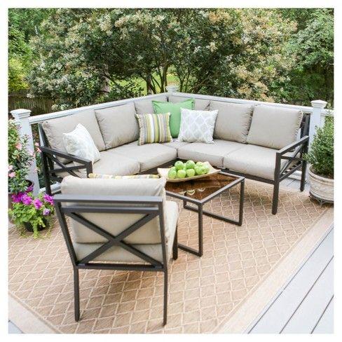 Best 11 Mainstays Sandhill 7 Piece Outdoor Sofa Sectional