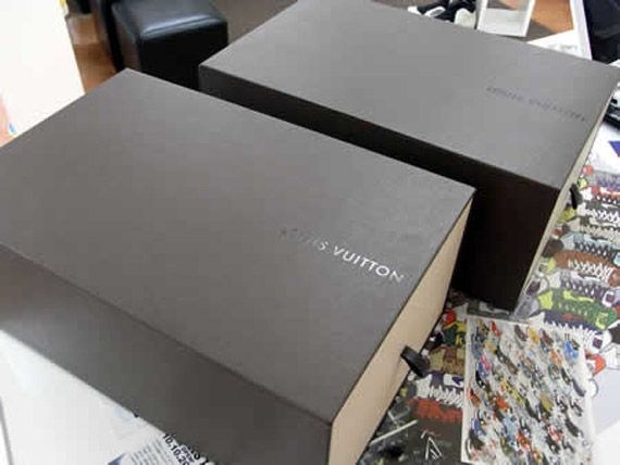kanye west x louis vuitton packaging detailed images